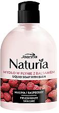 Düfte, Parfümerie und Kosmetik Flüssigseife mit Balsam Himbeere - Joanna Naturia Raspberry Liquid Soap