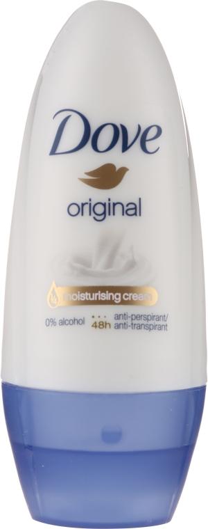 Deo Roll-on Anritranspirant - Dove Antiperspirant Original Deodorant Roll-On — Bild N1