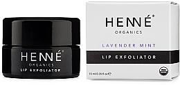 Düfte, Parfümerie und Kosmetik Lippenpeeling mit Lavendel- und Pfefferminzöl - Henne Organics Lavender Mint Lip Exfoliator