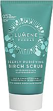 Düfte, Parfümerie und Kosmetik Tiefenreinigendes Gesichtspeeling mit Birkenextrakt - Lumene Puhdas Deeply Purifying Birch Scrub