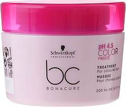 Düfte, Parfümerie und Kosmetik Pflegende Maske für coloriertes Haar - Schwarzkopf Professional Bonacure Color Freeze pH 4.5 Treatment