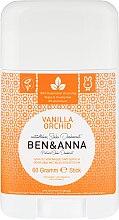 Düfte, Parfümerie und Kosmetik Natürlicher Soda Deo-Stick Vanilla Orchid - Ben & Anna Natural Soda Deodorant Vanilla Orchid