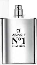 Düfte, Parfümerie und Kosmetik Aigner No 1 Platinum - Eau de Toilette (Tester ohne Deckel)