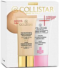Düfte, Parfümerie und Kosmetik Set - Collistar Deep Moisturizing Mou (Foundation/30ml + Gesichtscreme/25ml)