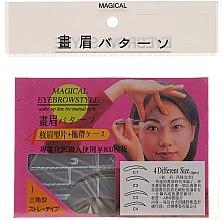 Düfte, Parfümerie und Kosmetik Augenbrauenschablonen Größe C1, C2, C3, C4 - Magical Eyebrow Style