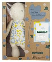 Düfte, Parfümerie und Kosmetik Klorane Baby Set My First Scented Water + Baby Accessory - Zestaw (edt 50 ml + toy)