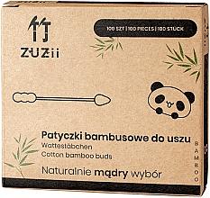 Düfte, Parfümerie und Kosmetik Bambus Wattestäbchen mit verschiedenen Spitzen - Zuzii Bamboo Cotton Buds