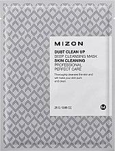 Düfte, Parfümerie und Kosmetik Tiefenreinigende Tuchmaske für das Gesicht - Mizon Dust Clean Up Deep Cleansing Mask
