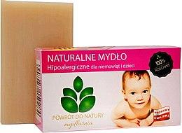 Düfte, Parfümerie und Kosmetik Hypoallergene Naturseife für Babys und Kinder - Powrot do Natury Natural Soap for Baby