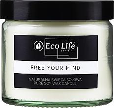 Düfte, Parfümerie und Kosmetik Soja-Duftkerze Free your mind - Eco Life Candles