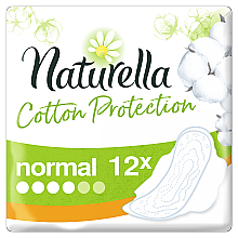 Düfte, Parfümerie und Kosmetik Damenbinden mit Flügeln 12 St. - Naturella Cotton Protection Ultra Normal