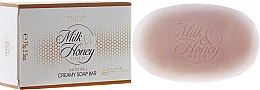 Düfte, Parfümerie und Kosmetik Aufweichende Cremeseife mit Milch und Honig - Oriflame Milk & Honey Gold Creamy Soap Bar
