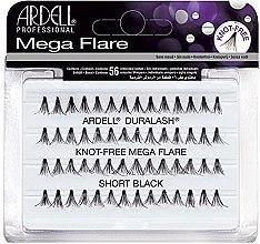 Düfte, Parfümerie und Kosmetik Wimpernbüschel-Set - Ardell Duralash Knot Mega Flare Short Black