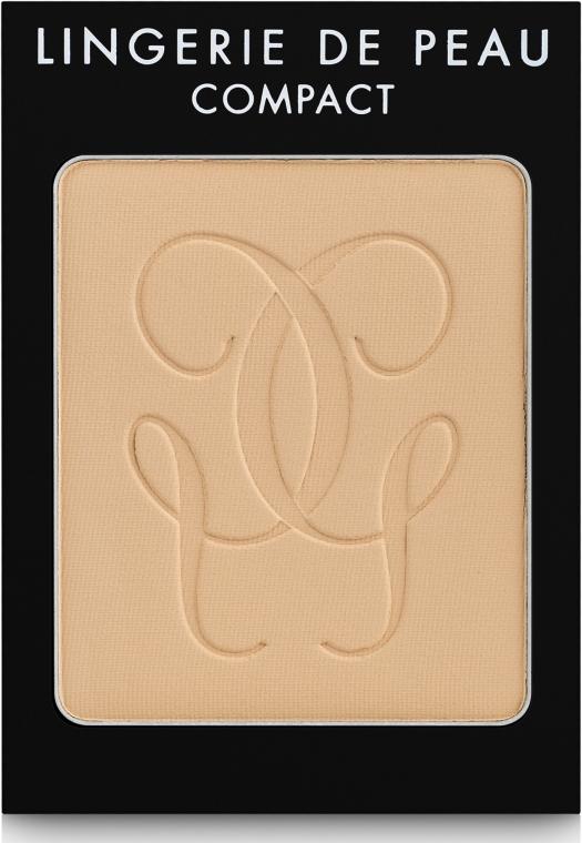 Kompaktpuder mit Siliziumdioxid (austaschbarer Pulverkern) - Guerlain Lingerie de Peau Compact Mat Alive — Bild N1