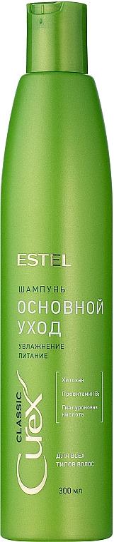 Feuchtigkeitsspendendes Shampoo für alle Haartypen - Estel Professional Curex Classic