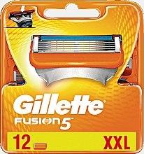 Düfte, Parfümerie und Kosmetik Ersatzklingen 12 St. - Gillette Fusion