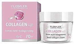 Düfte, Parfümerie und Kosmetik Regenerierende Gesichtscreme für Tag und Nacht mit Kollagen 70+ - Floslek Collagen Up Nutrii-collagen Cream 70+