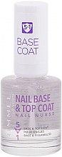 Düfte, Parfümerie und Kosmetik Nagelunterlack und -Überlack - Rimmel Nail Nurse 5 in 1 Nail Base & Top Coat