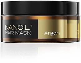 Düfte, Parfümerie und Kosmetik Haarmaske mit Arganöl - Nanoil Argan Hair Mask