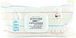 Düfte, Parfümerie und Kosmetik Baby-Feuchttücher mit Aloe Vera und Kamille 90 St. - Byphasse Baby Cleansing Wipes Face and Body