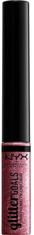 Glitzer-Eyeliner - NYX Professional Makeup Glitter Goals Liquid Eyeliner