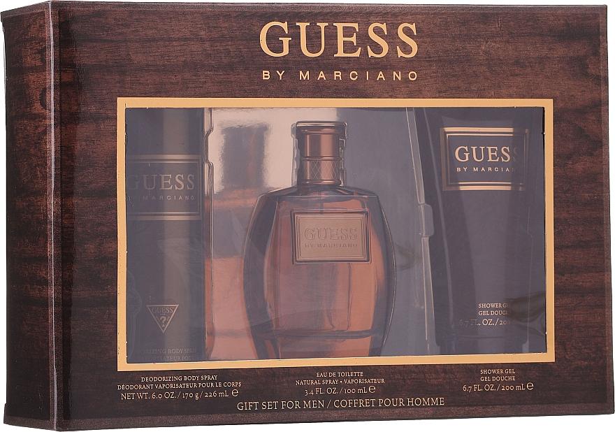 Guess by Marciano - Duftset (Eau de Toilette 100ml + Duschgel 200ml + Deospray 226ml)