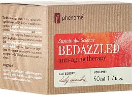 Düfte, Parfümerie und Kosmetik Regenerierende Nachtcreme - Phenome Sustainable Science Bedazzled Anti-Aging Therapy