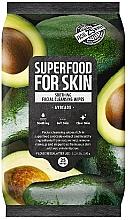 Düfte, Parfümerie und Kosmetik Gesichtsreinigungstücher mit Avocado 25 St. - Superfood For Skin Fresh Food Facial Cleansing Wipes