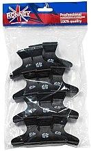 Düfte, Parfümerie und Kosmetik Haarkrebs schwarz Größe L RA 00074 12 St. - Ronney Professional Hair Clip