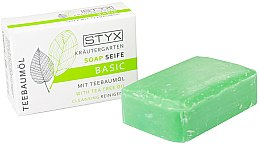 Düfte, Parfümerie und Kosmetik Seife mit Teebaumöl - Styx Naturcosmetic Basic Soap With Tea Tree Oil