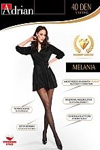 Düfte, Parfümerie und Kosmetik Strumpfhose für Damen Melania String 40 Den Nero - Adrian