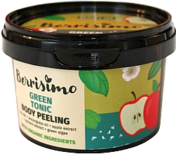 Düfte, Parfümerie und Kosmetik Körperpeeling mit grünem Tonikum - Berrisimo Green Tonic Body Peeling