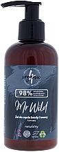 Düfte, Parfümerie und Kosmetik Reinigungsgel für Gesicht und Bart mit Kaffee - 4Organic Mr Wild Coffee