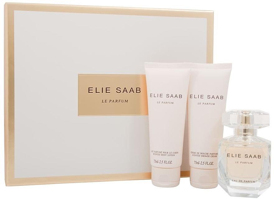 Elie Saab Le Parfum - Duftset (Eau de Parfum 50ml + Körperlotion 75ml + Duschcreme 75ml)