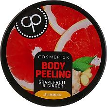 Düfte, Parfümerie und Kosmetik Straffendes Körperpeeling mit Grapefruit und Ingwer - Cosmepick Body Peeling Grapefruit & Ginger