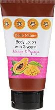Düfte, Parfümerie und Kosmetik Körperlotion - Belle Nature Body Lotion With Mango & Papaya