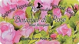 Düfte, Parfümerie und Kosmetik Handgemachte Seife - Florinda Sapone Vegetale Vegetal Soap Rose Bouquet