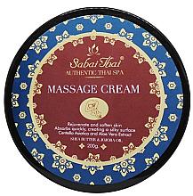Düfte, Parfümerie und Kosmetik Massagecreme für den Körper mit Centella-Extrakt und Aloe Vera - Sabai Thai Jasmine Aroma Massage Cream