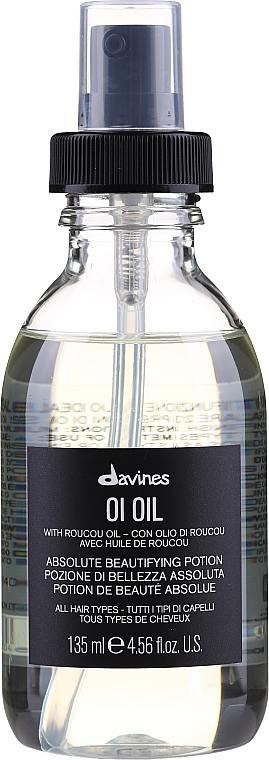 Haaröl mit Roucou - Davines Oi Absolute Beautifying Potion With Roucou Oil
