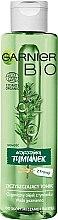 Düfte, Parfümerie und Kosmetik Gesichtsreinigungstonikum mit Salicylsäure - Garnier Bio Perfecting Tonik Purifying Thume