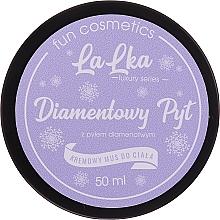Düfte, Parfümerie und Kosmetik Cremige Körpermousse mit Diamantpulver - Lalka