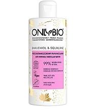 Düfte, Parfümerie und Kosmetik Anti-Falten Mizellen-Reinigungswasser - Only Bio Bakuchiol & Skwalante Anti-Wrinkle Micellar Water