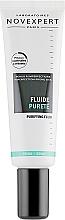 Düfte, Parfümerie und Kosmetik Reinigendes Anti-Aging Gesichtsfluid gegen Hautunreinheiten für normale bis Mischhaut - Novexpert Trio-Zinc Purifying Fluid