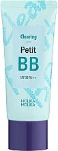 Düfte, Parfümerie und Kosmetik Klärende und porenreinigende BB Gesichtscreme für Problemhaut SPF 30 - Holika Holika Clearing Petit BB Cream