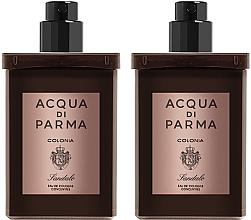 Düfte, Parfümerie und Kosmetik Acqua Di Parma Colonia Sandalo Concentree - Duftset (Eau de Cologne/ Nachfüllflakons /2x30ml)