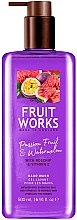 Düfte, Parfümerie und Kosmetik Flüssige Handseife mit Passionsfrucht und Wassermelone - Grace Cole Fruit Works Hand Wash Passion Fruit & Watermelon