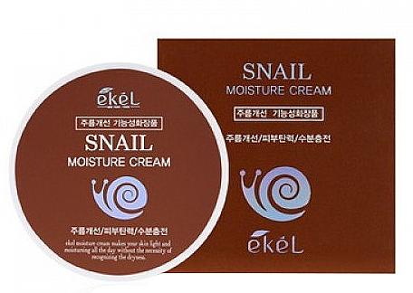 Gesichtscreme mit Schneckenschleim - Ekel Snail Moisture Cream — Bild N1