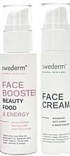 Düfte, Parfümerie und Kosmetik Gesichtspflegeset - Swederm (Gesichtsbooster 100ml + Anti-Aging-Gesichtscreme 50ml)