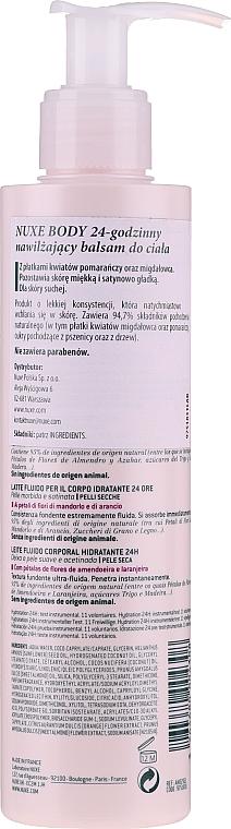 Feuchtigkeitsspendende Körpermilch - Nuxe Body 24hr Moisturizing Body Lotion — Bild N2