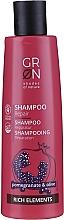 Düfte, Parfümerie und Kosmetik Regenerierendes Shampoo mit Granatapfel und Olive - GRN Rich Elements Pomegranate & Olive Repair Shampoo